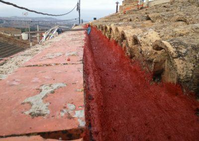 Restauración de canal pluvial