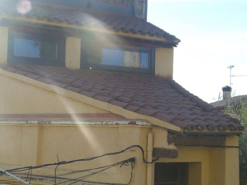 Impermeabilización de tejado en Moja